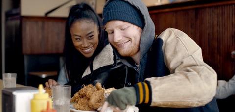 Ed Sheeran in the