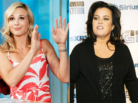 elisabeth hasselbeck vs rosie o'donnell