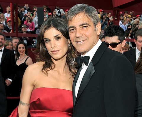 george clooney and elisabetta