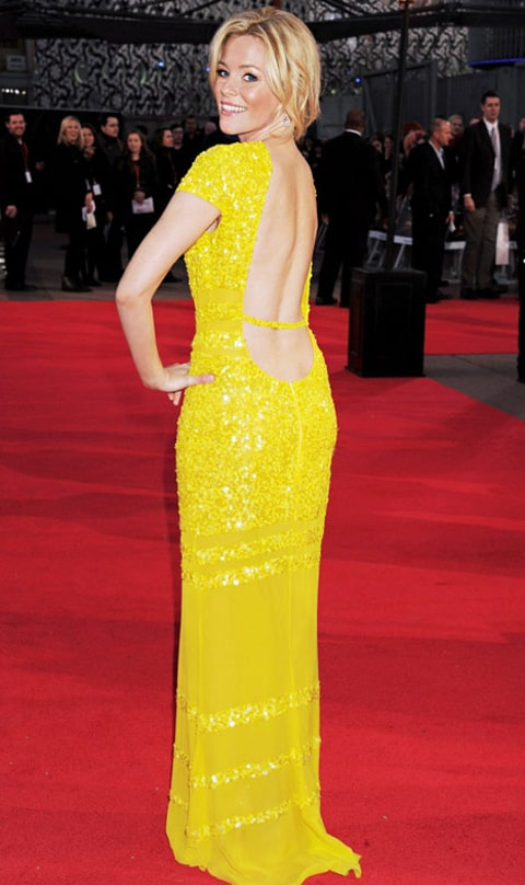 elizabeth banks yellow dress