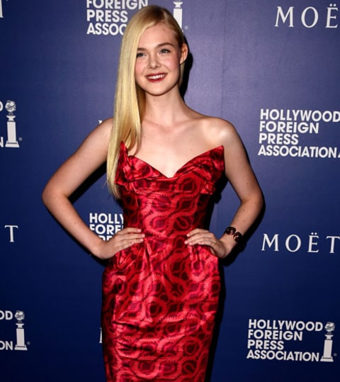 Elle Fanning at HFPA Grants