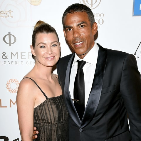 Ellen Pompeo and Chris Ivery attend day four of the 61st Taormina Film Fest on June 16, 2015, in Italy.