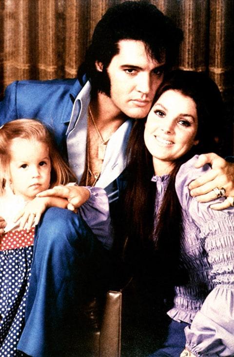 Priscilla, Lisa Marie Presley Visit Graceland on Elvis' 80th Birthday