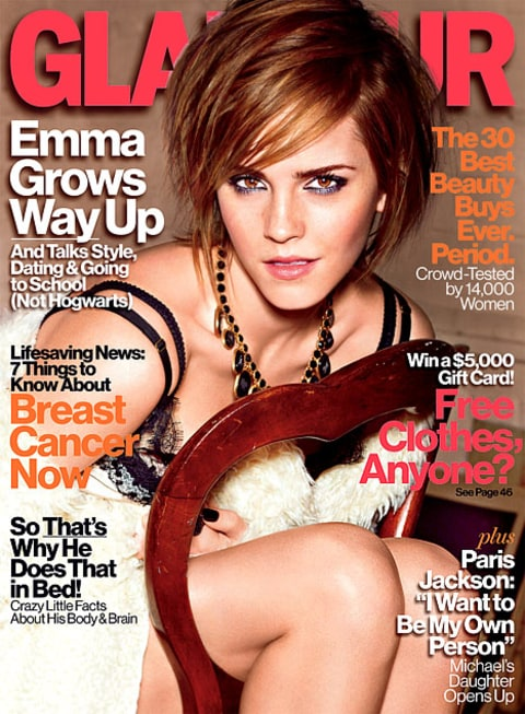 Emma Glamour Cover