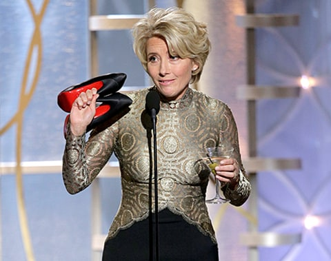 Emma Thompson Golden Globe Award