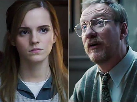 Emma Watson and David Thewlis