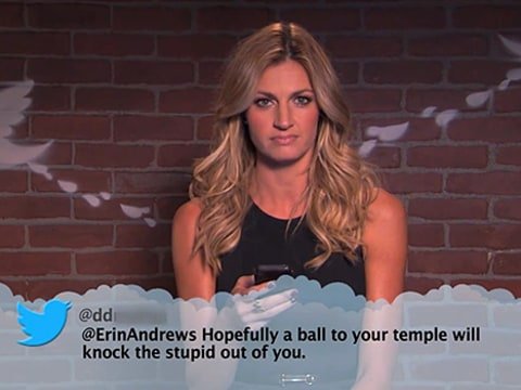 Erin Andrews Mean Tweet