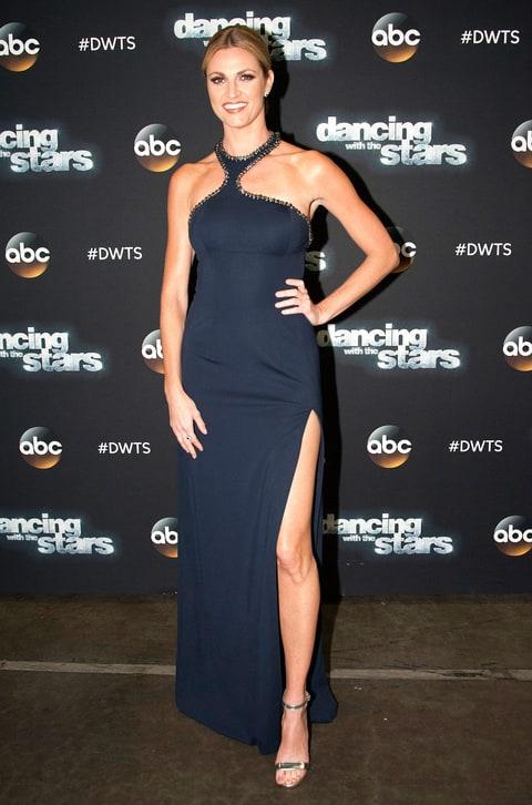 erin andrews julianne houghs dwts dress details tv