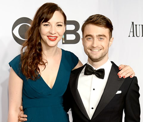 Erin Darke and Daniel Radcliffe