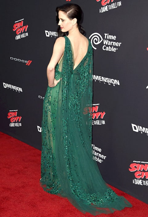 Eva Green - sin city premiere