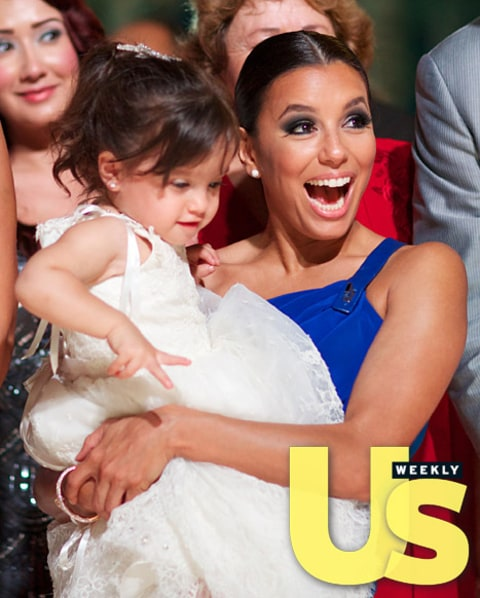 Eva Longoria and Gia