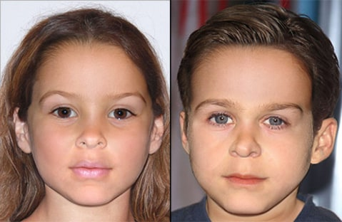 Ryan Gosling and Eva Mendes kids