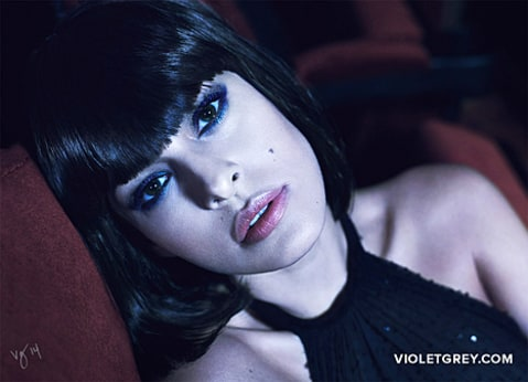 Eva Mendes for Violet Grey horizontal