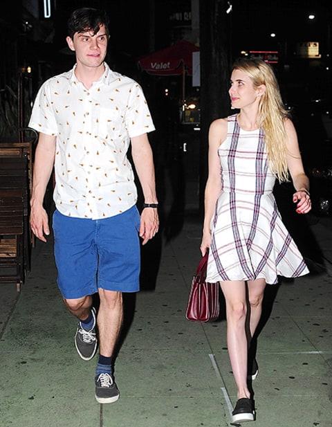 Evan Peters And Emma Roberts Emma Roberts an...