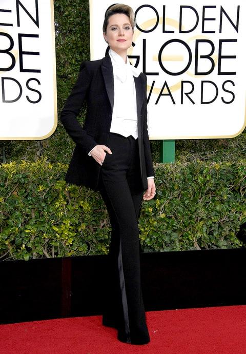 Golden Globes: Evan Rachel Wood, Octavia Spencer in Suits ... Drew Barrymore Hotel
