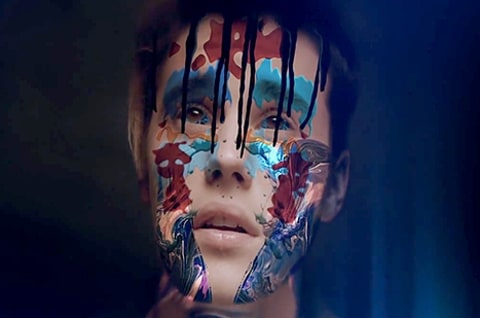 Justin Bieber - painted face