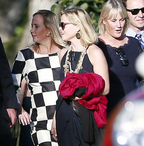Reese Witherspoon - Justin Bartha Wedding