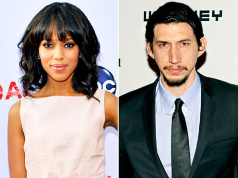 Kerry Washington and Adam Driver