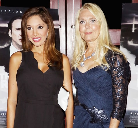 Farrah Abraham and her mother, Debra