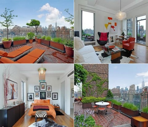 jennifer aniston's apartment