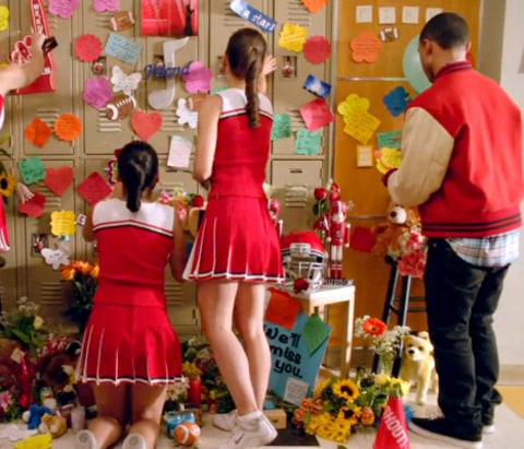 Glee Tribute - wall