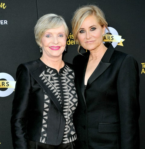 Florence Henderson Maureen Mccormick Zoom Brady Bunch Cast Reunites At Memorial