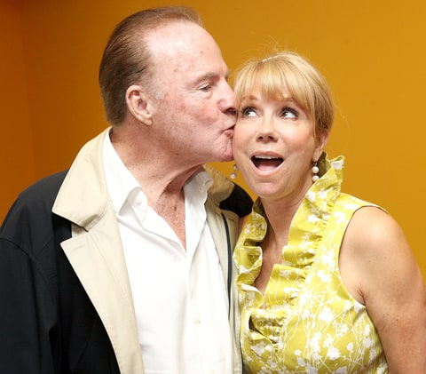 Frank Gifford and Kathie Lee Gifford attend an afternoon with Kathie Lee Gifford at Azure on May 13, 2010 in New York City.