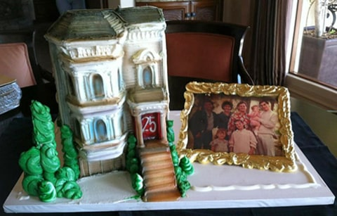 Full House Cast Reunion Cake