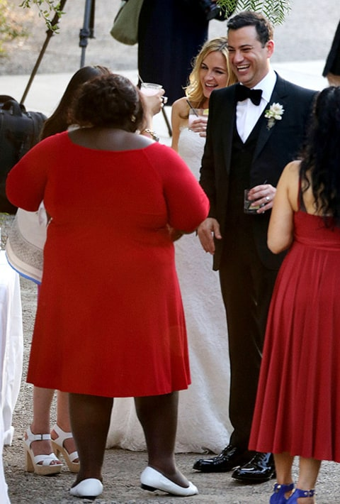 gabourey at wedding