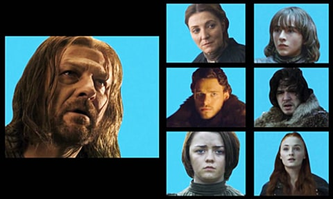 game of thrones brady bunch