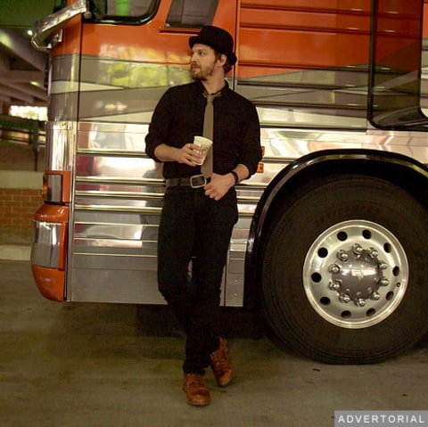 Gavin DeGraw – tour bus