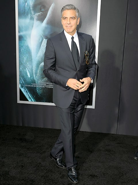 George Clooney - New York Gravity