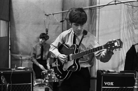 Ringo Starr, George Harrison
