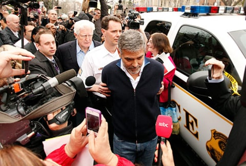George Clooney Arrested 3