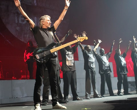 Roger Waters performs at Madison Square Garden on October 5, 2010 in New York City.