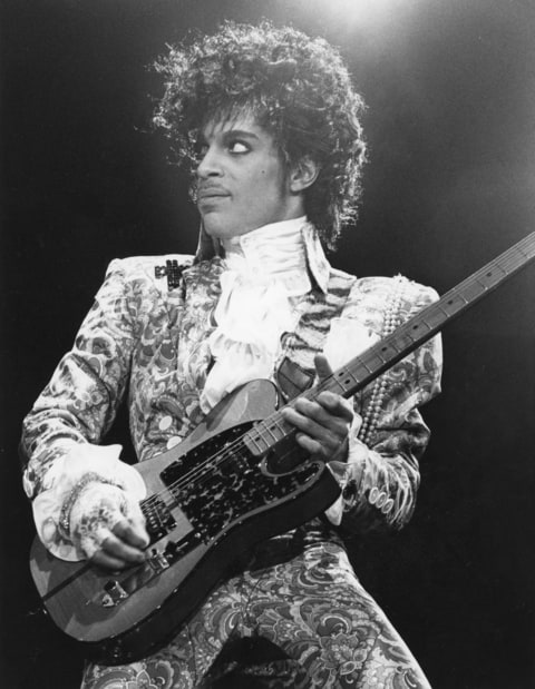 American singer, songwriter and musician Prince, circa 1985.(