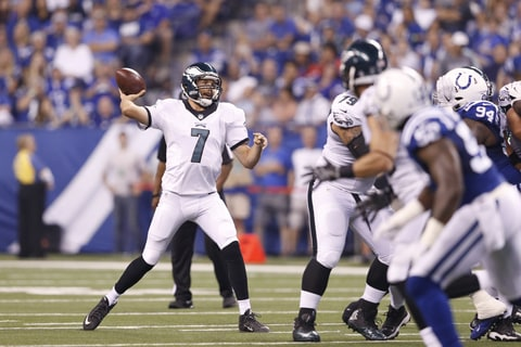 Sam Bradford was traded from the Philadelphia Eagles to the Minnesota Vikings for a first round pick