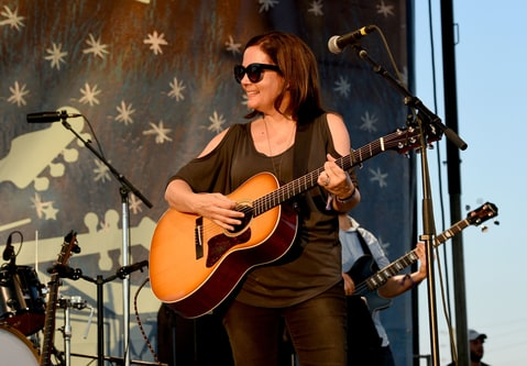 Singer-songwriter Lori McKenna performs onstage at the Pilgrimage Music & Cultural Festival - Day 1 on September 24, 2016 in Franklin, Tennessee.