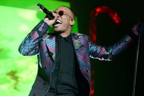 Singer Anderson .paak performs onstage during Power 106 Cali Christmas at The Forum on December 2, 2016 in Inglewood, California.