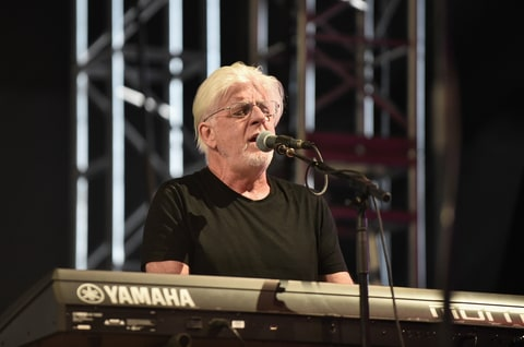 Musician Michael McDonald performs with Thundercat at the Mojave Tent during day 2 of the Coachella Valley Music And Arts Festival (Weekend 1) at the Empire Polo Club on April 15, 2017 in Indio, California.