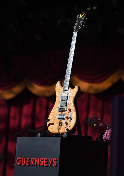 Jerry Garcia's Wolf Guitar Sells for $1.9 Million ...