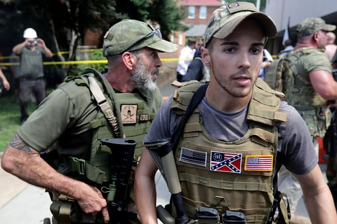 Charlottesville White Supremacist Rally Erupts In Violence