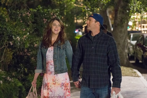 Lauren Graham, Scott Patterson Gilmore Girls.