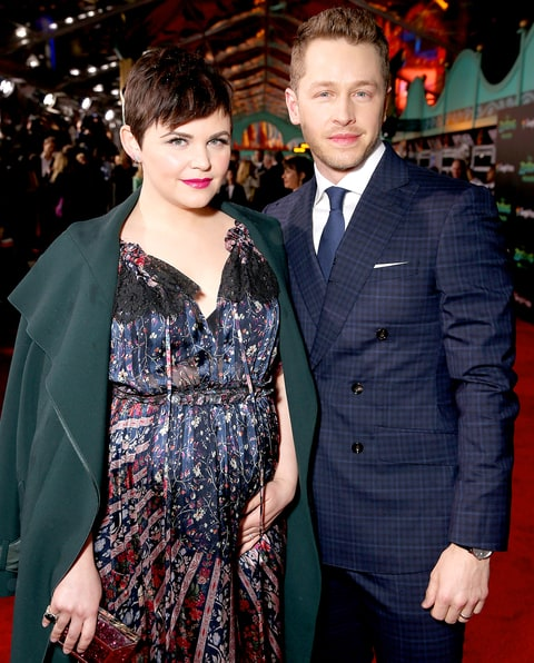 Ginnifer Goodwin and Josh Dallas attend the premiere Of Walt Disney Animation Studios'