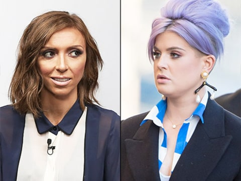 Giuliana Rancic and Kelly Osbourne