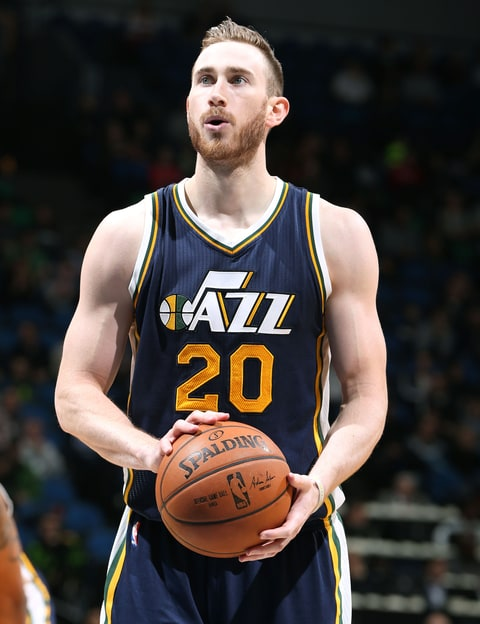 Gordon Hayward39;s new hair cut and beard seems to be a slamdunk with