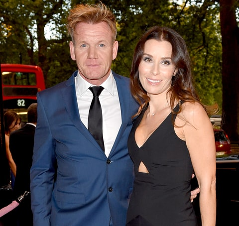 Gordon Ramsey and Tana Ramsay attend the Boodles Boxing Ball at The Grosvenor House Hotel on September 12, 2015 in London, England.