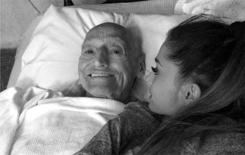 Ariana Grande and Grandpa