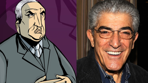 Frank Vincent as Salvatore Leone in 'Grand Theft Auto III'