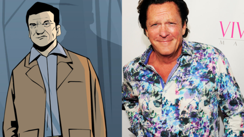 Michael Madsen as Toni Cipriani in 'Grand Theft Auto III'
